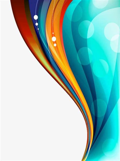 color floating curve color clipart color curve  curve