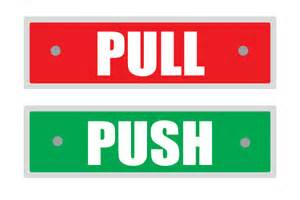 Push Pull Sign For Glass Door Printable Pull And Push Sign For Doors Green Free Door Signs