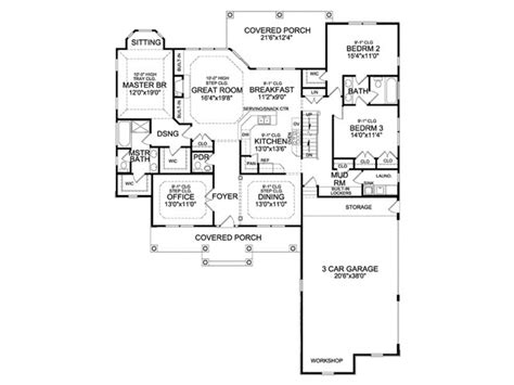 eplans craftsman house plan craftsman ranch with