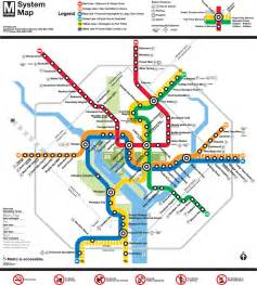 Silver Line Dc Metro Map by Official Map Washington D C Metro Rush System