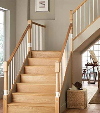 New Stair Banister Staircase Terminology Cheshire Mouldings