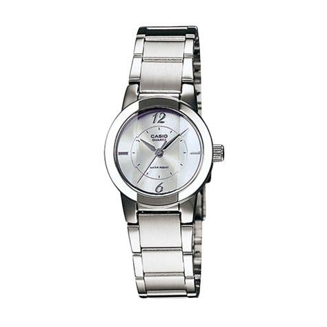 Jam Tangan Casio Wanita Original Terbaru jual casio jam tangan wanita original terbaru bonus baterai tl 0213d 7c harga