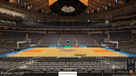 Madison Square Garden Seating Chart Section 117 View