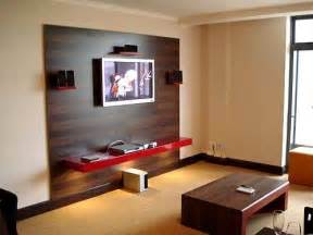 living room design wall