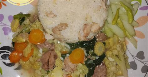 resep menu prasmanan enak  sederhana cookpad