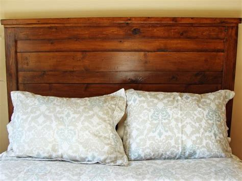 original headboards how to build a rustic wood headboard how tos diy
