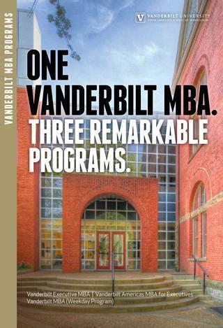 Vanderbilt Owen Mba by Vanderbilt Mba Programs By Vanderbilt Owen Graduate School
