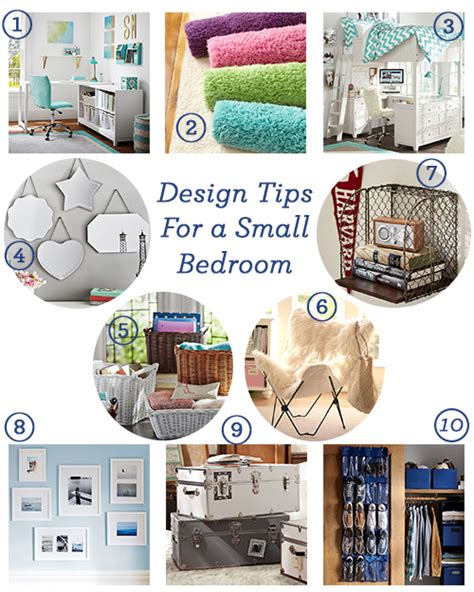 10 Tips For A Bedroom by 10 Design Tips For A Small Bedroom Pbteen