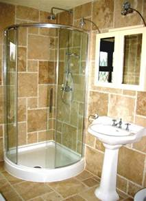 Ideas For Small Bathroom by Ideas For Small Bathrooms With Shower Stall Home Design