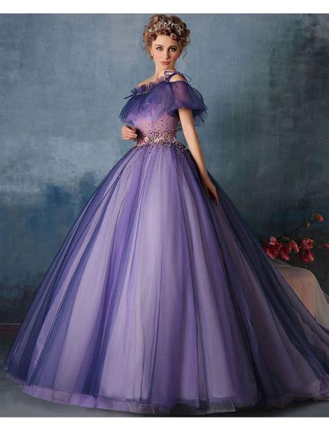 Dress Princes 2 shoulder vintage style princess gown