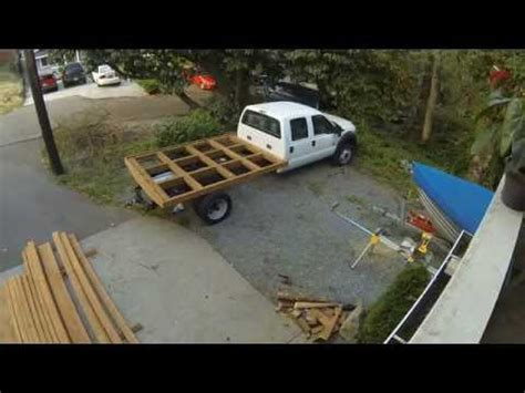 diy wood truck bed wood truck bed ford f 450 diy fyi