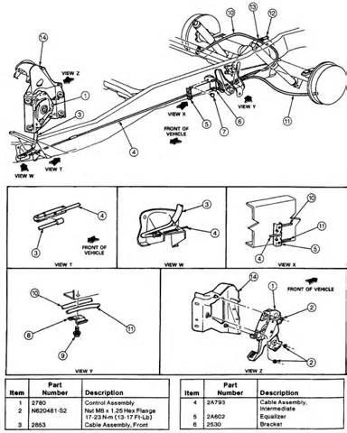 Brake System Bleeding Procedure 93 F350 4x4 4d 460eng What Is The Brake Bleeding Procedure