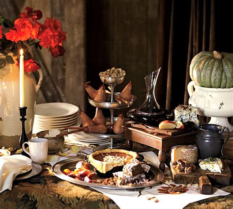 Buffet Table Ideas by Buffet Style Thanksgiving Table Decoist