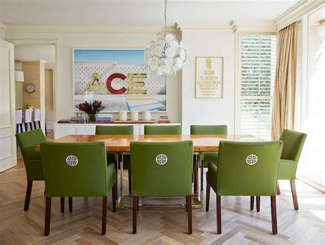 green dining room chairs green dining chairs eclectic dining room diane