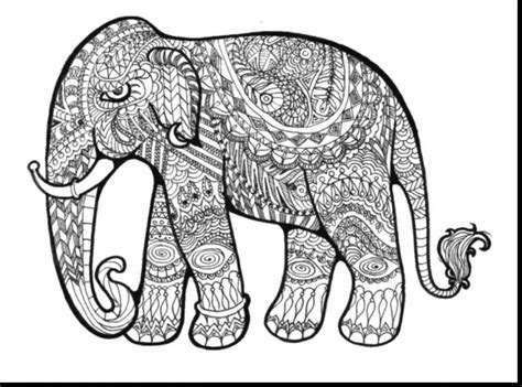 complicated elephant coloring pages free difficult coloring pages coloring pages