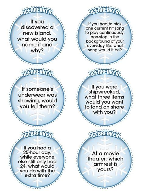 christmas party ice breakers for adults totally random and totally printable icebreaker questions to get the started therapy