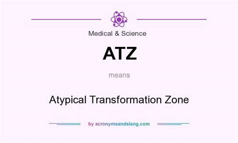 mosaic pattern atypical transformation zone atz atypical transformation zone in medical science by
