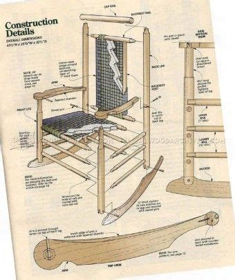 rocking bench plans 17 best ideas about rocking chair plans on pinterest