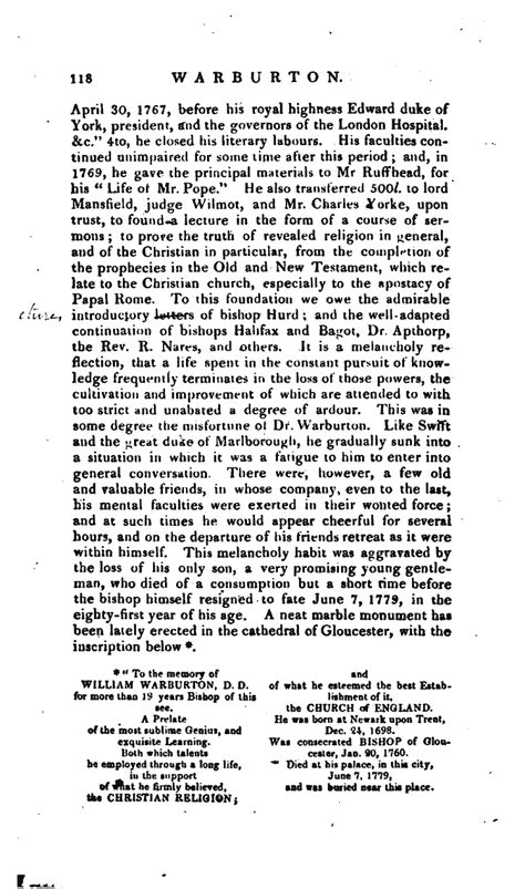 writing a letter to a judge words biog warburton william 1749