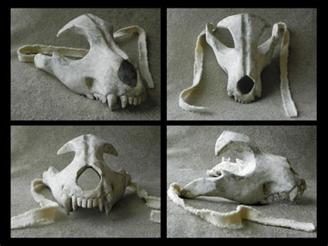 How To Make A Paper Mache Skull Mask - eric strother