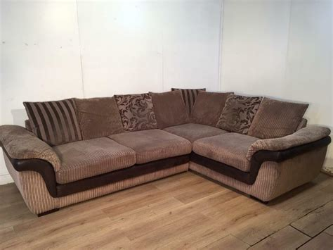 Sofa Free Delivery by Brown Dfs Corner Sofa With Free Delivery Within 10