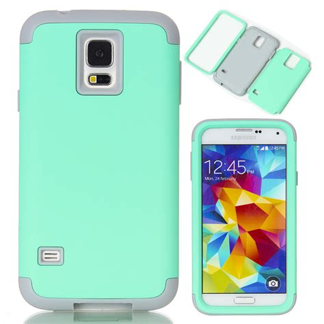 Samsung Galaxy S5 Silicon Softcase Screen Guard Capdase Original 3 In 1 Phone Cases For Samsung Galaxy S5 I9600 Soft