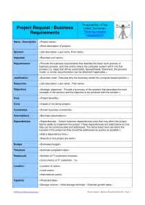 project request form template project request form