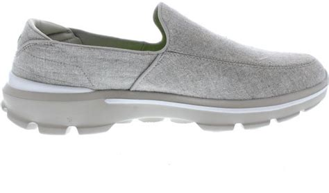 skechers grey walking shoe for review and buy in