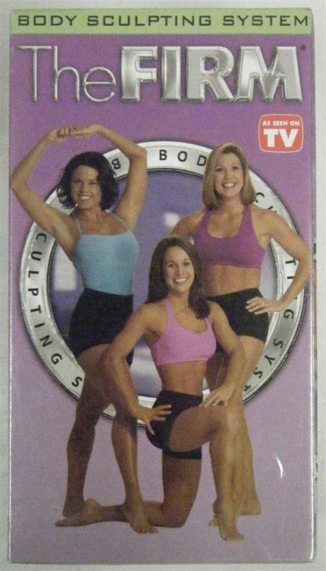 3 the firm sculpting system vhs workout cardio ab sculpt other fitness running