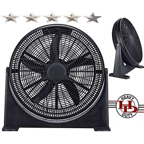 high flow radiator fan 20 quot high velocity home power fan with superior air