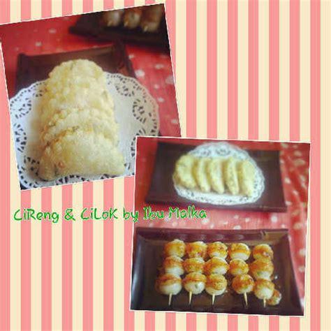 ncc jajan tradisional indonesia week cilok  cireng keju