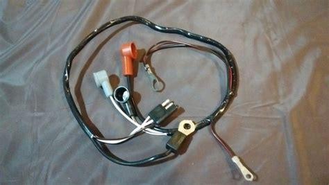 66 68 67 69 Ford Falcon V8 Alternator Feed Wiring Harness