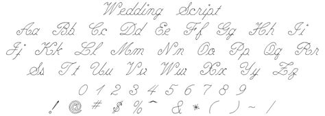 Wedding Engraving Font by Engravingshop Wedding Script Font Style