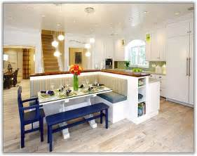 kitchen island with bench seating home design ideas shaped designs