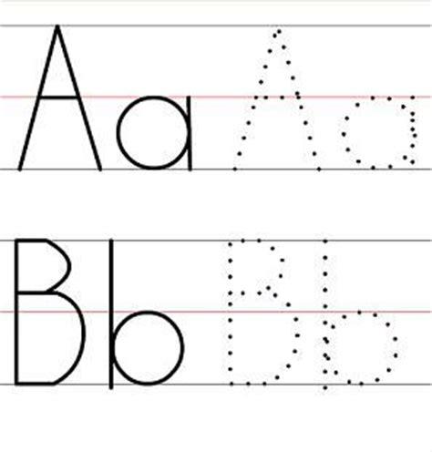 make a printable alphabet letter tracing worksheets tracing letters tracing worksheets and letters on pinterest