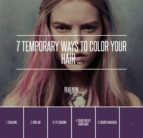 food coloring in hair 7 food coloring 7 temporary ways to color your hair