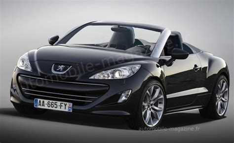 peugeot convertible rcz peugeot rcz roadster in the works top speed