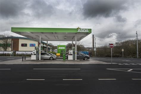 asda petrol filling station blackwood south wales