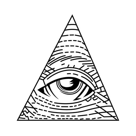 illuminati triangle eye the gallery for gt illuminati pyramid eye outline