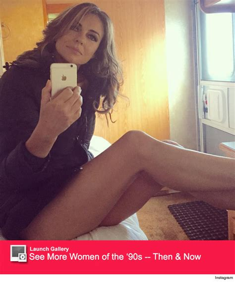liberty mutual asian lady newhairstylesformen2014com elizabeth hurley posts sexy selfie in just a jacket shows