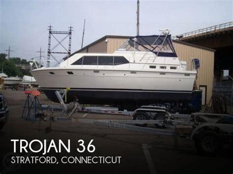 trojan boats for sale in michigan for sale used 1985 trojan 36 tri cabin located in
