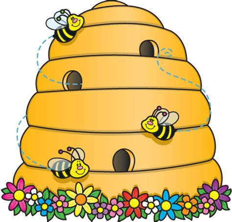 bee hives images cliparts co