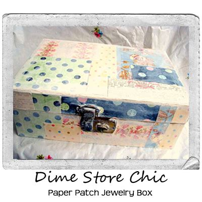 how do you make a jewelry box vintage what you make of it dime store chic