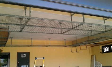 diy garage hanging shelves diy garage storage
