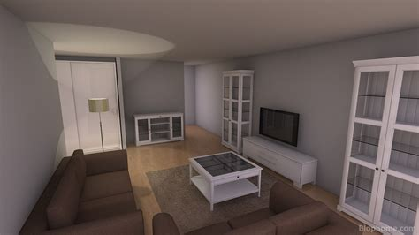 Proyecto Living rooms   salon ikea by jonaibai.