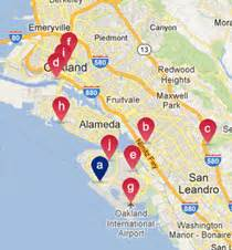 california map with tourist attractions san francisco bay area things to do tourist attractions