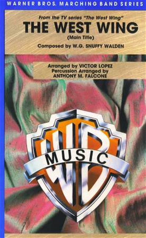 theme music west wing west wing main theme sheet music by victor lopez sku