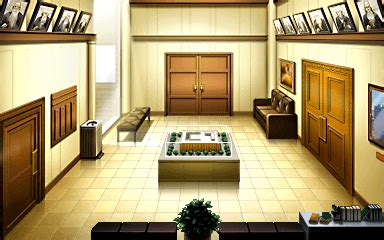Court Records Ace Attorney Image Courthouse Lobby Gif Ace Attorney Wiki Fandom