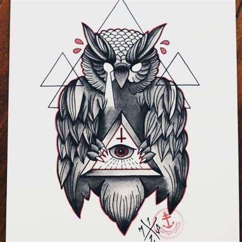 illuminati owls illuminati owl drawing www pixshark images