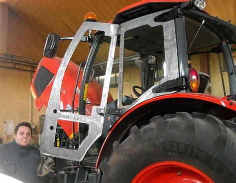 costruzione cabine per trattori agricoli modifica cabine trattori